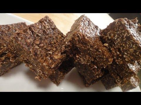 No Bake Oat Chocolate Bars   Sanjeev Kapoor Khazana