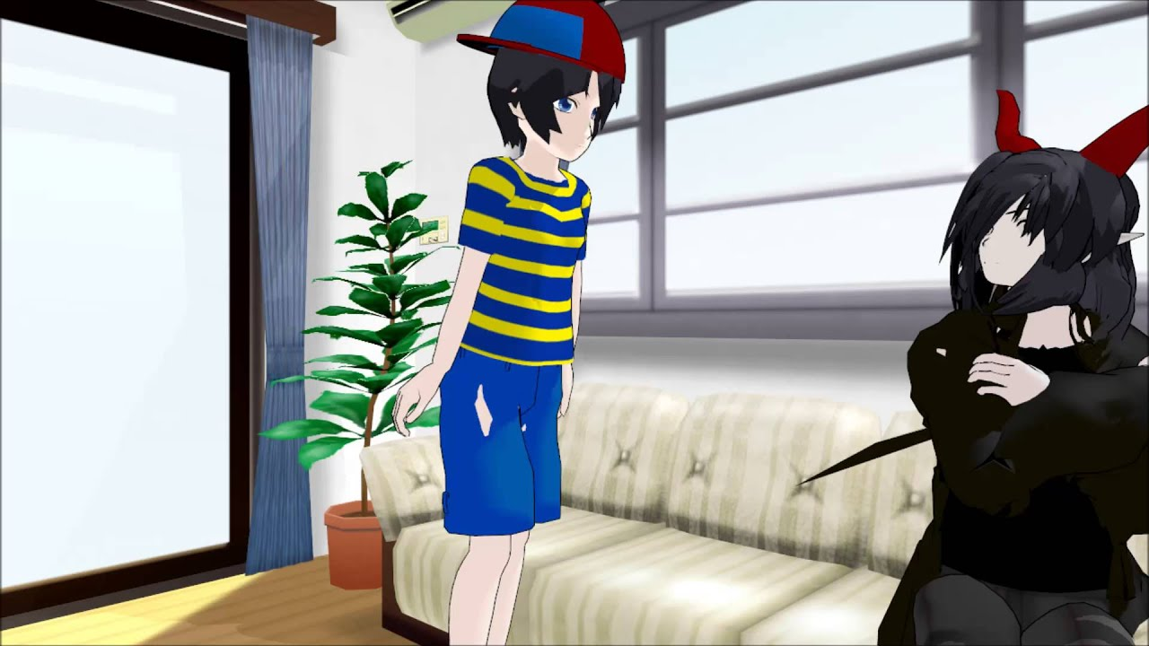 [EarthBound MMD] What REALLY happened before the Giygas battle by Yaoi  Prince