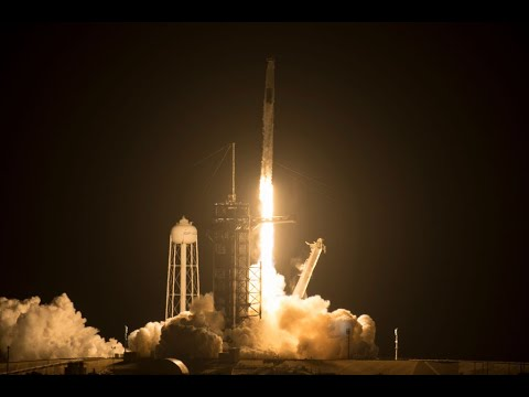 WATCH: Spectacular pre-dawn SpaceX rocket launch carries 4 astronauts to International Space Station