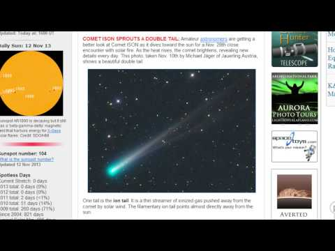 NASA's Deep Impact Comes Back To Life! 6 Tailed Asteroid & Deep Footage of Comet ISON!