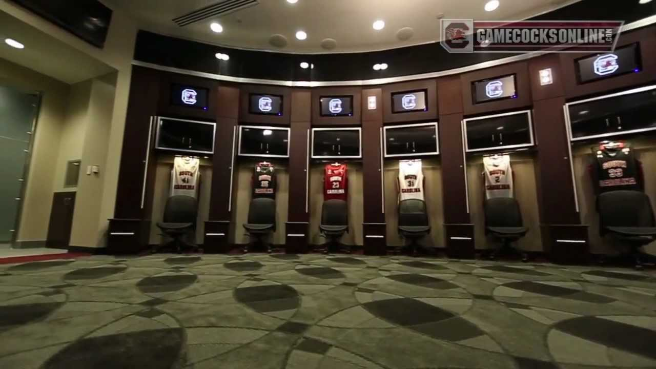 South Carolina Men S Basketball Locker Room Youtube