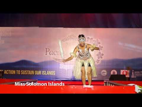 Day 6 Talent Miss Solomon Islands