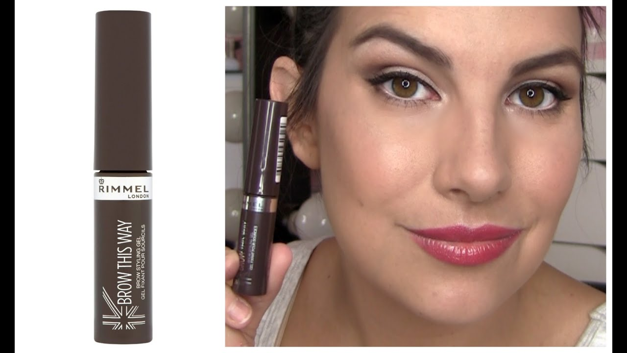 e231b203bba Rimmel Brow This Way Review - YouTube