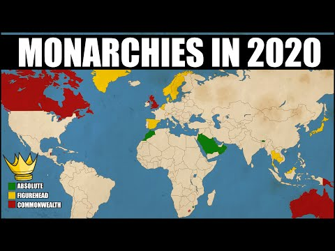 Countries That Are Still Monarchies in 2020