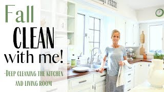Fall Cleaning 2019 ~ Cleaning Motivation ~ Deep Cleaning ~  Kitchen Cleaning