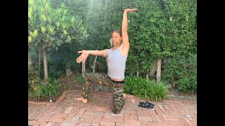 Hip ELDOA Stretch in Internal Rotation Visual Explanation