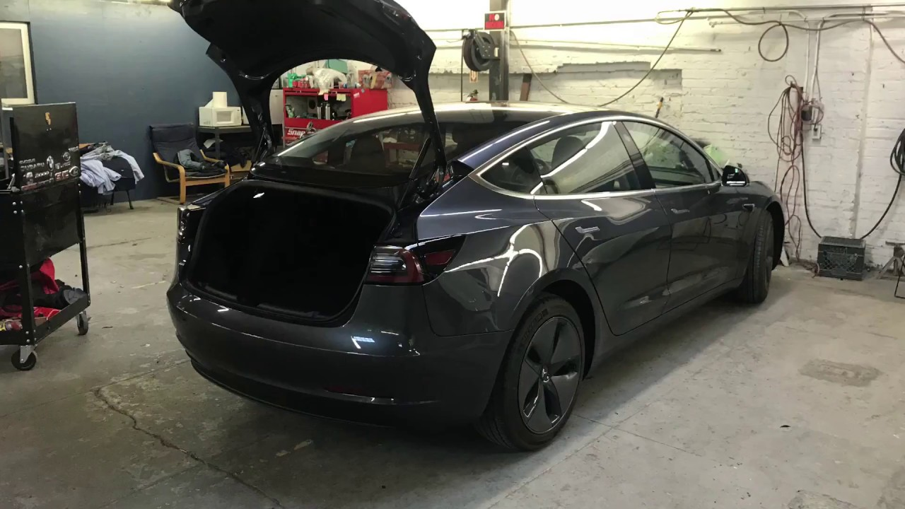 How to Remove 2017 Tesla Model 3 Rear Bumper and Taillights - Body Shop  Basics