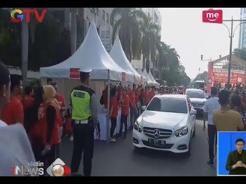 Warga & Polisi Hadang Mobil Mewah yang Ingin Terobos Car Free Day di Bundaran HI - BIS 03/12