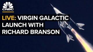 WATCH LIVE: Virgin Galactic spaceflight carrying founder Richard Branson—7/11/21