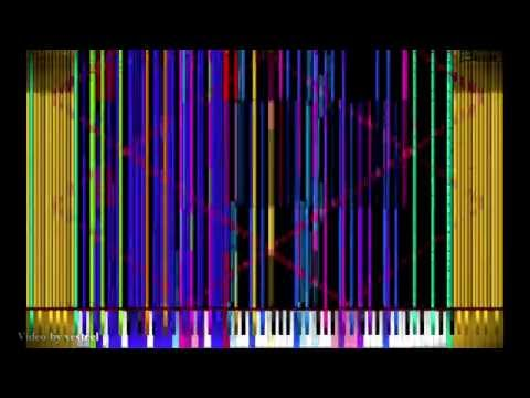 [BLACK MIDI] Tetris Theme V4 90,000 Notes! (Impossible Remix)