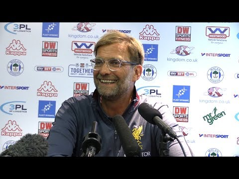 Wigan 1-1 Liverpool - Jurgen Klopp Post Match Press Conference