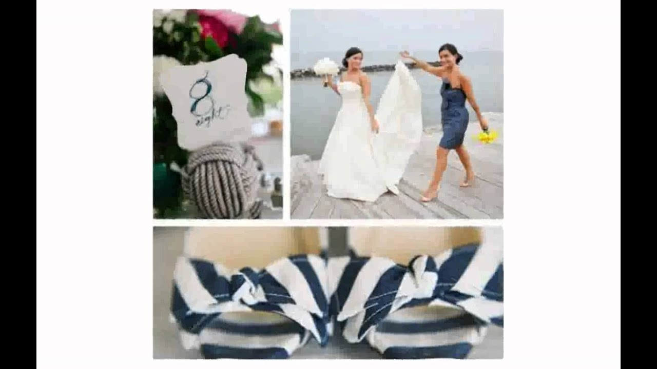 Nautical Wedding Ideas - YouTube