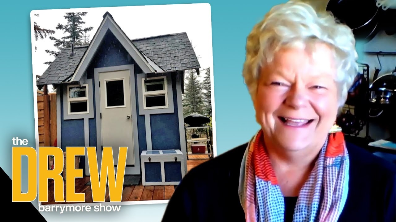 Drew Meets Woman Who Founded My Tiny House Village | Designed by Drew