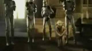 Yoda bailando chiki chiki