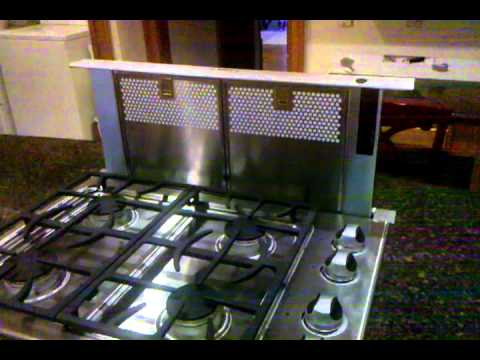 bosch telescoping downdraft vent youtube. Black Bedroom Furniture Sets. Home Design Ideas
