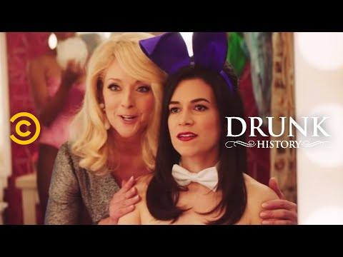 Drunk History - Gloria Steinem Goes Undercover at the Playboy Club