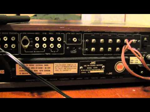 vintage jvc 5540U stereo receiver made in japan on ebay