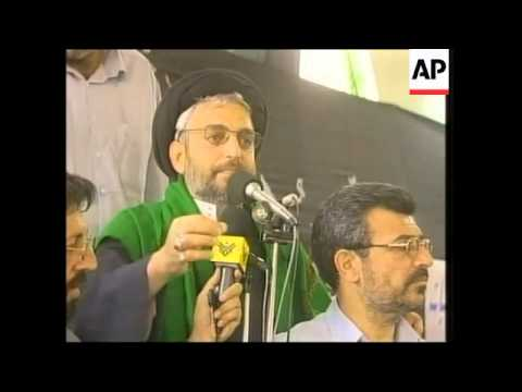 Friday prayers at Baghdad mosque, Imam criticises US