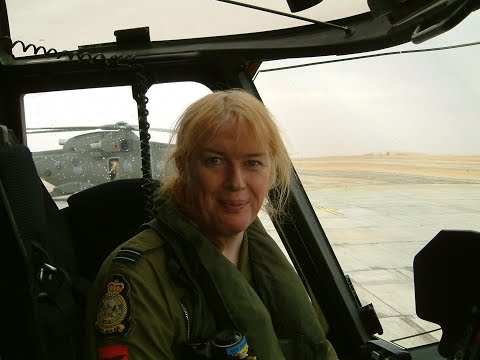 Interview with Caroline Paige on the F-4, Wessex and Merlin