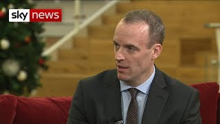 Dominic Raab: 'The UK should have a backstop exit plan'