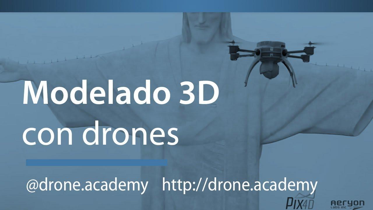 Drone Academy - Modelado 3D Cristo Redentor