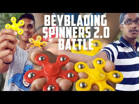 BEYBLADING SPINNERS 2.0 BATTLE IN DESI STYLE