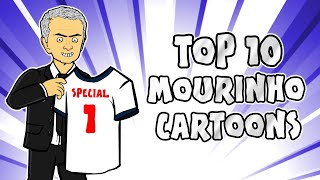 Top 10 Jose Mourinho Cartoons!