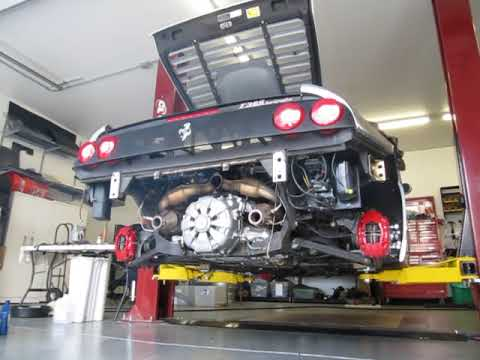 Ferrari 355 start up after major belt service and valve job