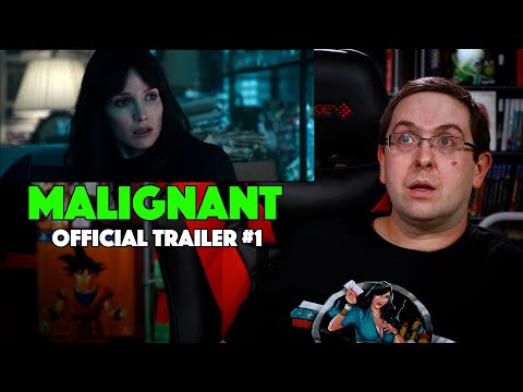 REACTION! Malignant Trailer #1 – James Wan Movie 2021