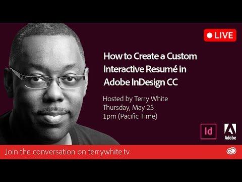 How To Create Custom Interactive Resume In Adobe Indesign Cc