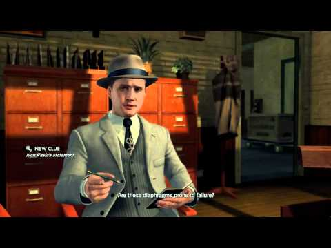 LA Noire - Arson Desk Case 1 - 5 Star - The Gas Man