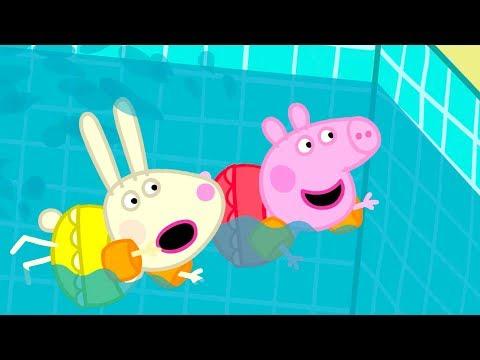 Peppa Pig Français | Peppa va à la Piscine | 2018 Compilation | Dessin Animé
