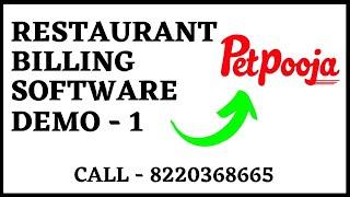 Restaurant Billing System In Vb.net