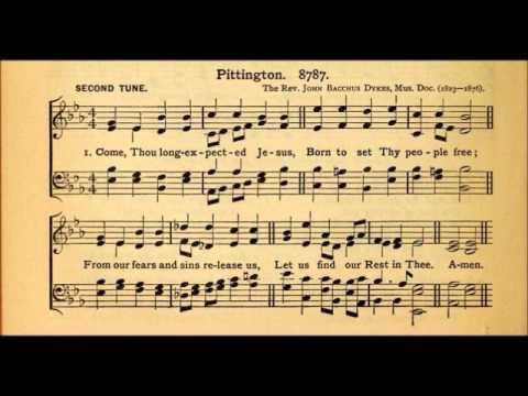 Hymn Tune: Pittington (by John Bacchus Dykes, 1823-1876)