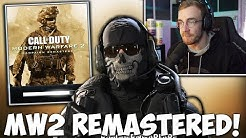 MODERN WARFARE 2 REMASTERED IST DA! (DOWNLOAD, OG Ghost Skin, Black Ops 5 und mehr!)