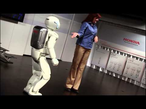 The High Level Bridge crew meets ASIMO