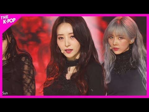 DREAMCATCHER, Red Sun [THE SHOW 200225]