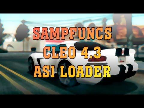 Sampfuncs — это дополнение к библиотеке cleo 4.