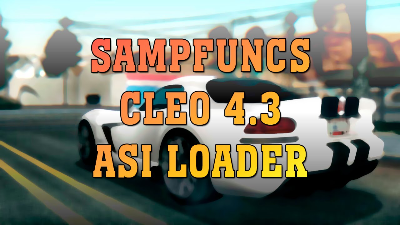 Скачать Sampfuncs для Samp 0.3.7