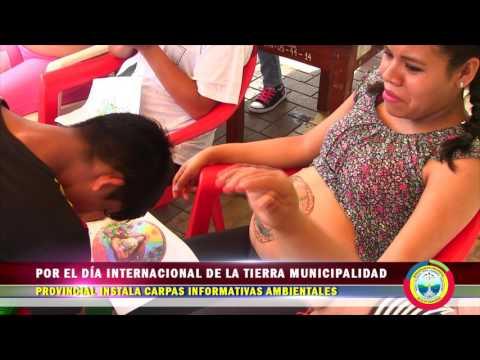 POR EL DÍA INTERNACIONAL DE LA TIERRA MPAA INSTALA CARPAS INFORMATIVAS AMBIENTALES