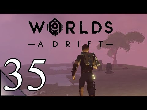 Worlds Adrift 35:  Down Into The Lower Mists.. Let's Play Beta Gameplay