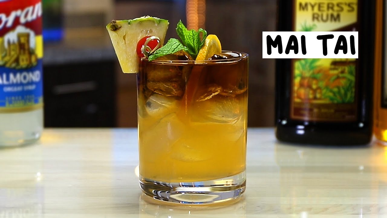 Mai tai tipsy bartender for Mixed drinks with white rum