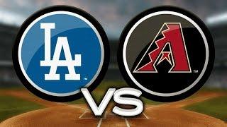 MLB: Arizona Diamondbacks vs Los Ángeles Dodgers Game 3