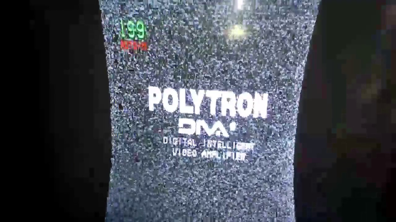 Kerusakan Tv Polytron Gambar Kanan Kiri Tidak Penuh Dan Melengkung Youtube
