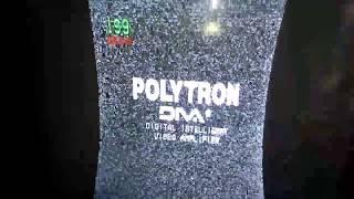 Kerusakan tv polytron gambar kanan kiri tidak penuh dan melengkung
