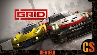 GRID - PS4 REVIEW (Video Game Video Review)