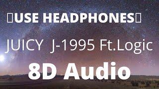 Juicy J-1995 (8DAudio) ft. Logic