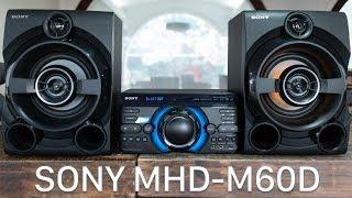 Đánh giá nhanh dàn âm thanh all-in-one Sony MHC-M60D