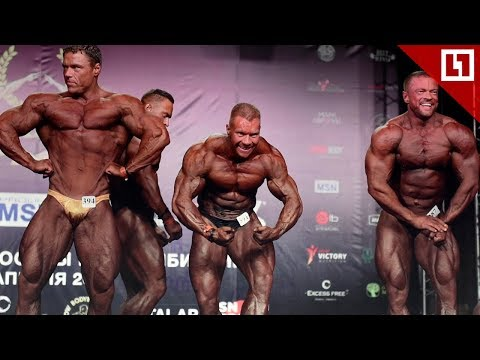 Самые крутые силачи и красотки-бодибилдерши на Athletics Expo 2019