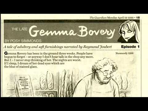 Posy Simmonds presents 'Gemma Bovery'